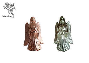 Cina Silver Silver Copper Angel Coffin Fittings, Angel 002 # Coffin Corner PP Plastic pabrik